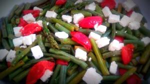 Asparagus green beans 3