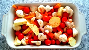 Balsamic glazed roast veg 1