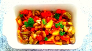 Balsamic glazed roast veg 2 1